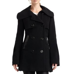 MACKAGE double breasted wool/cashmere peacoat